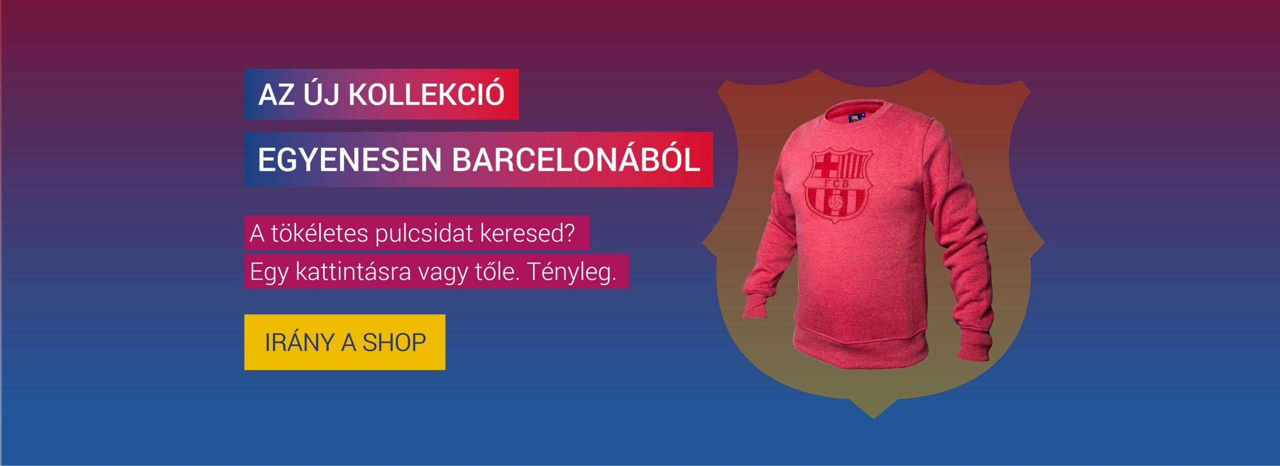 barcelona maszk pulóver új kollekció