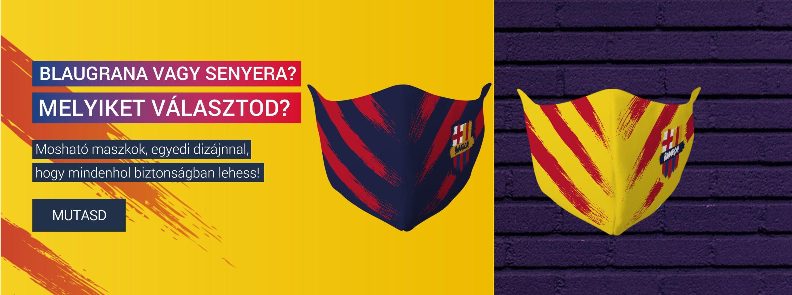 barcelona maszk