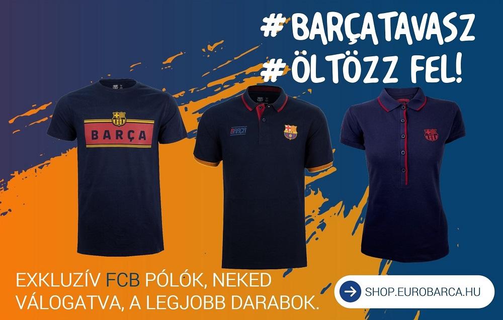 fc barcelona hivatalos szurkolói termékek eurobarca shop polo sapka kulacs parna kabát